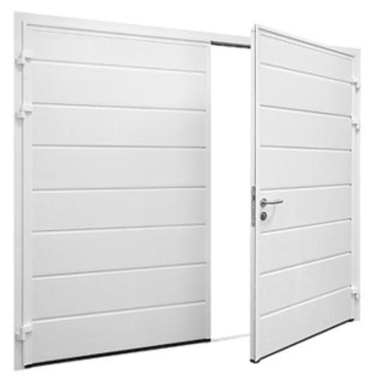 Side Hide Garage Doors